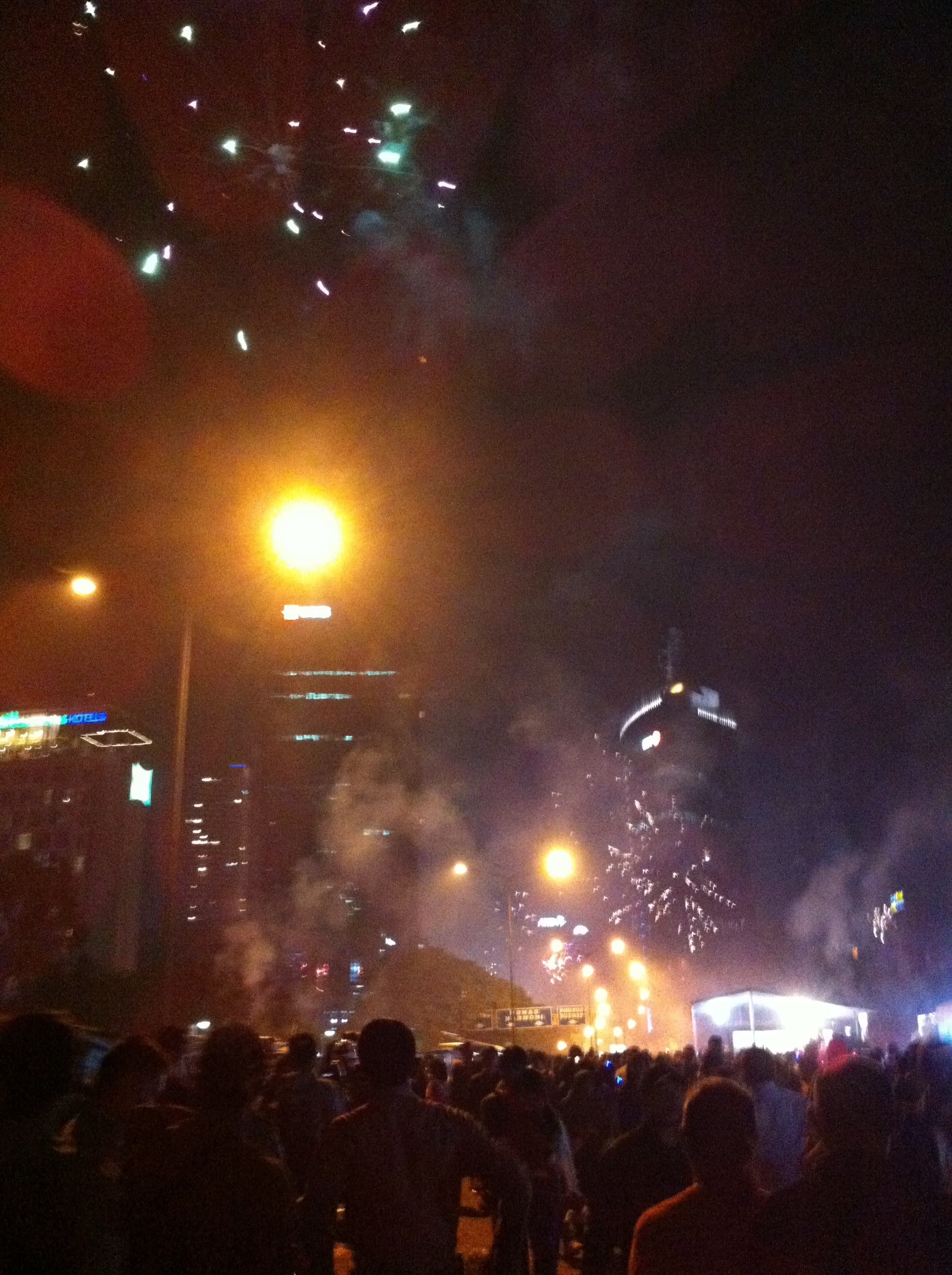 jakarta the whole jakarta was excited by celebrating the new year 2014 i could hear many many people blowing a toy bugle which you can get at street stalls voltagebd Image collections